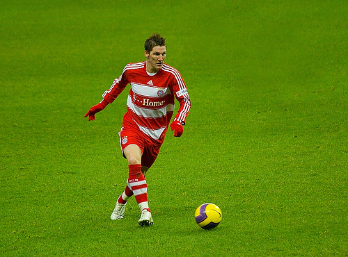Bayern-Spieler Bastian Schweinsteiger