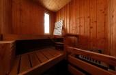 Sauna und Fußball - eine gute Kombination